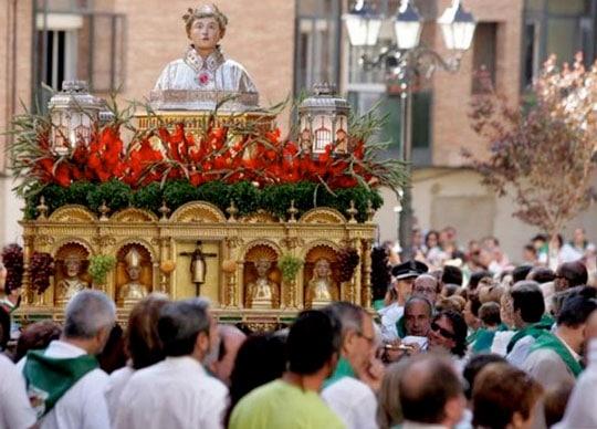procesion san lorenzo
