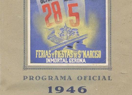 fiestas sant narcis 1946