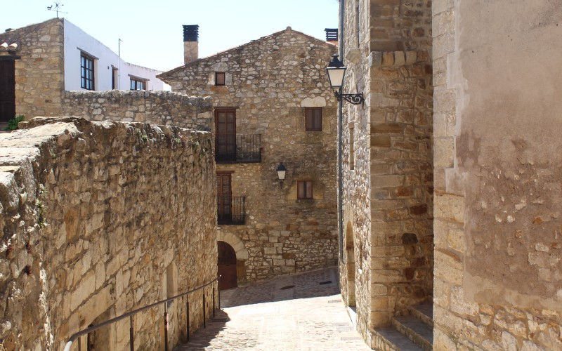 Pueblo de Culla, en Castellón