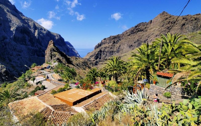 Masca, en las alturas de Tenerife