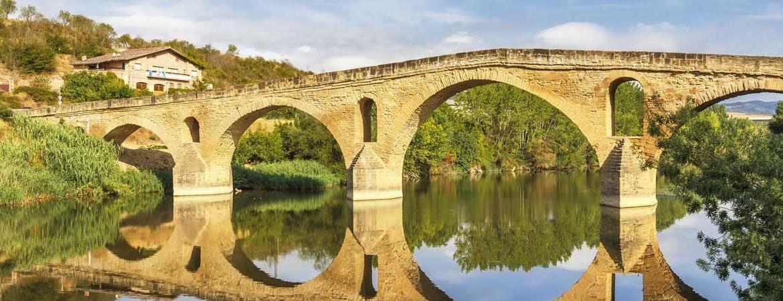 Panorámica de Puente la Reina