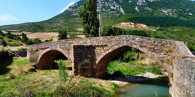 Puente medieval de Monreal