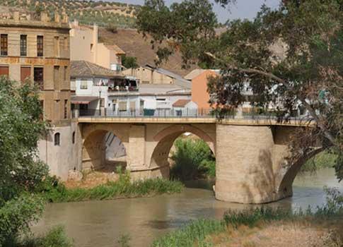 Puente del río Genil