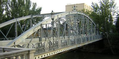 Puente del Hierro de Palencia