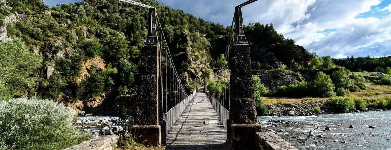 Puente decimonónico sobre el río Ara en Jánovas