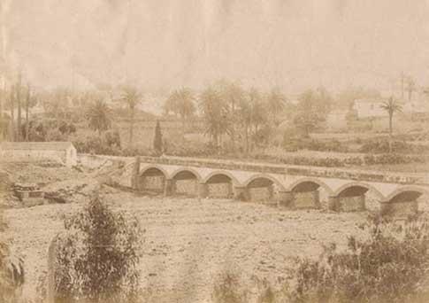 foto antigua puente siete ojos