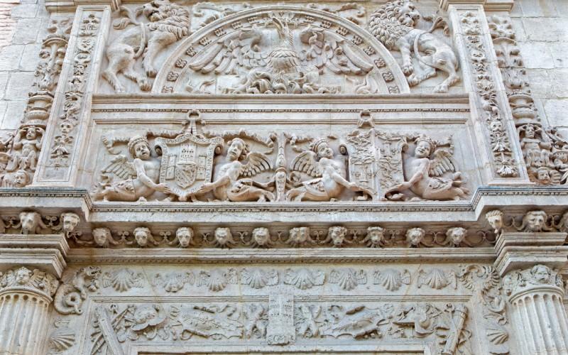Detalle de la Iglesia de Castril
