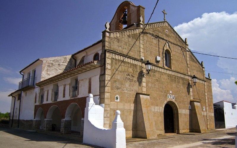Fachada principal de la Ermita de la Transfiguración