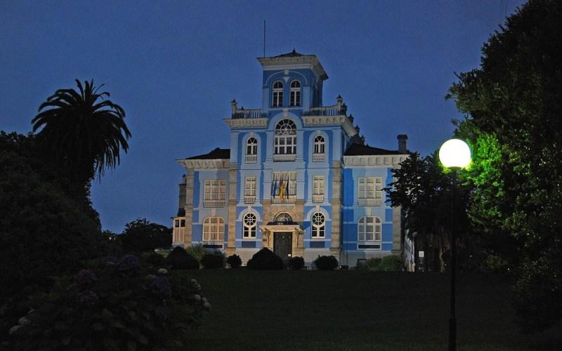 La Quinta de Guadalupe de noche