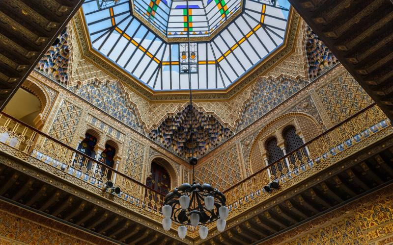 Sala árabe del Real Casino de Murcia