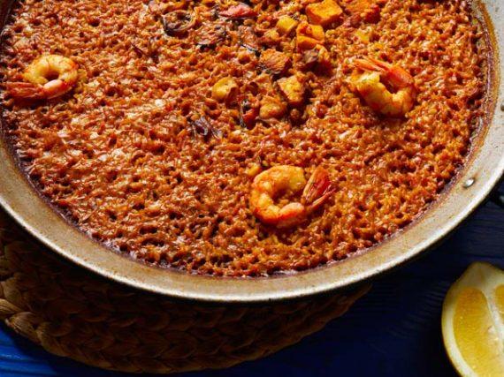 Receta de arroz a banda