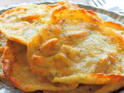 Receta de tortillitas de camarones