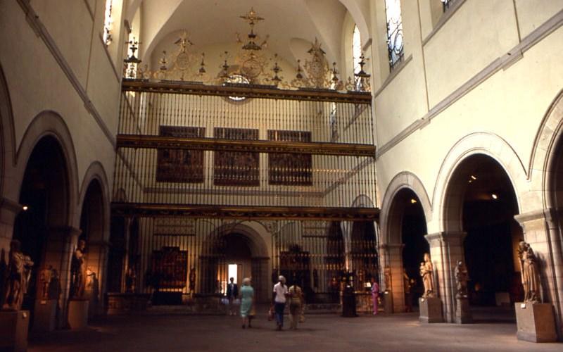 Reja de la catedral de Valladolid en el Met