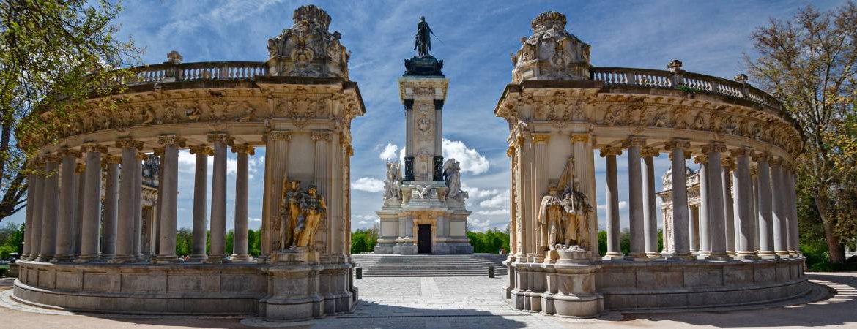 Visión panorámica monumento Alfonso XII