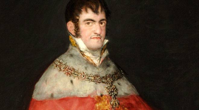 Fernando VII absolutista