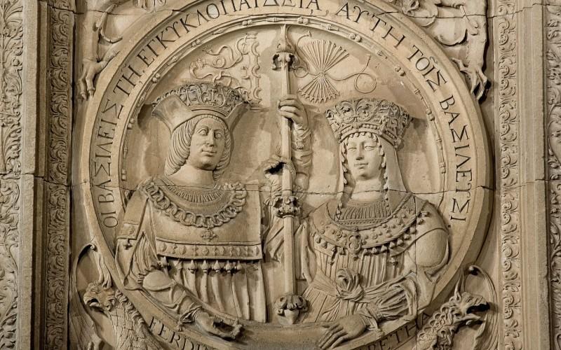 Relieve de los Reyes Católicos