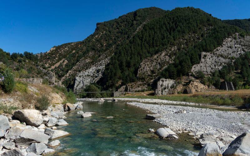 Río Ara en Huesca