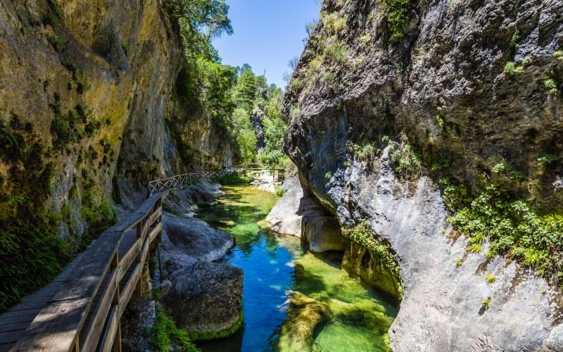 Senda del Río Borosa en la Sierra de Cazorla, Jaén