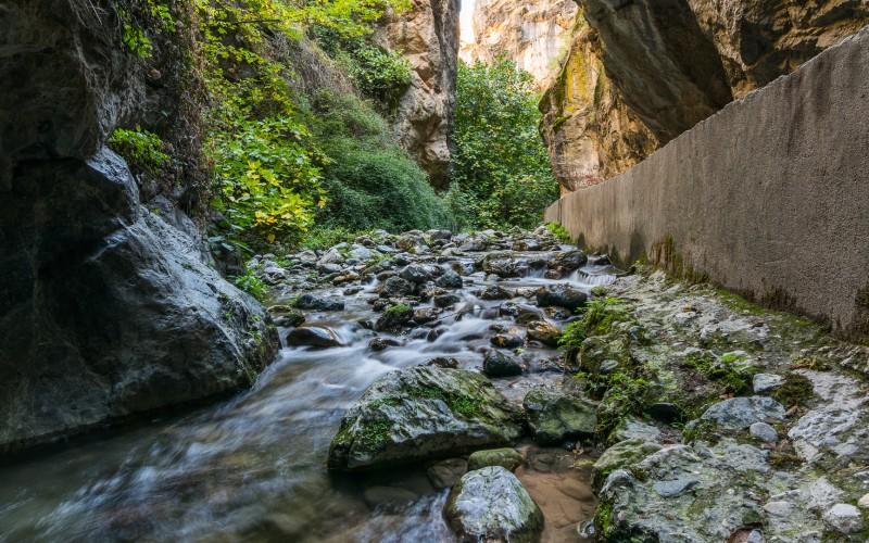 Río Monachil, cerca del Cerro de la Encina