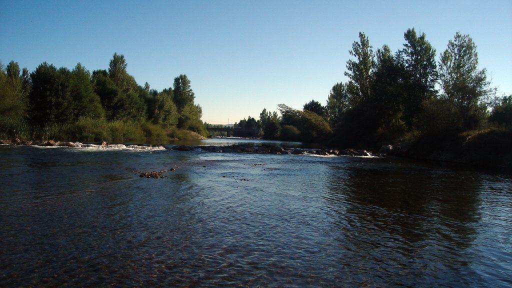 Río Órbigo Santa Cristina de la Polvorosa