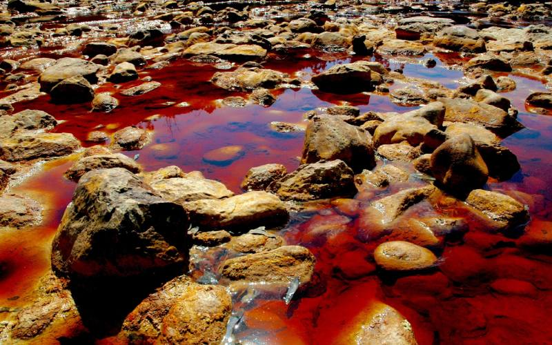 Aguas del Río Tinto