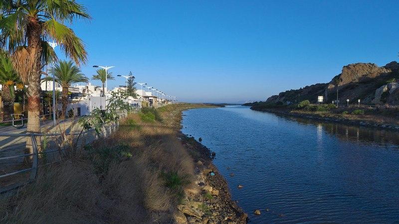 Río Cachón en Zahara de los Atunes