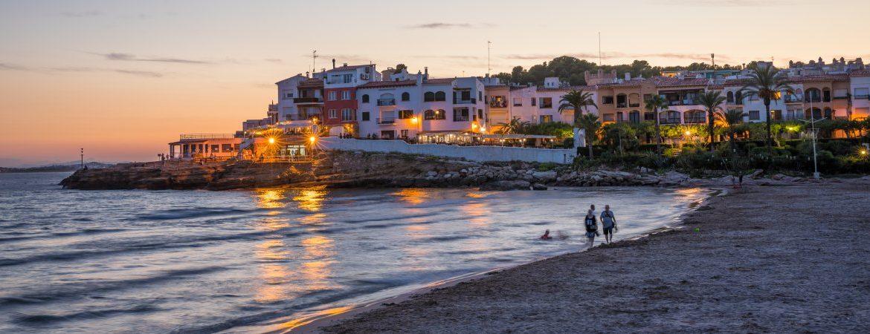 Roc de Sant Gaietà desde la playa