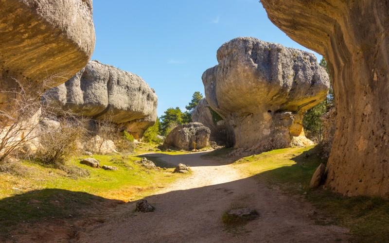 Ciudad Encantada, rocas con formas caprichosas
