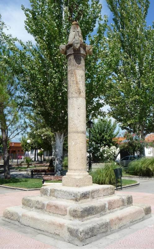 Rollo jurisdiccional de Talavera la Vieja en Rosalejos