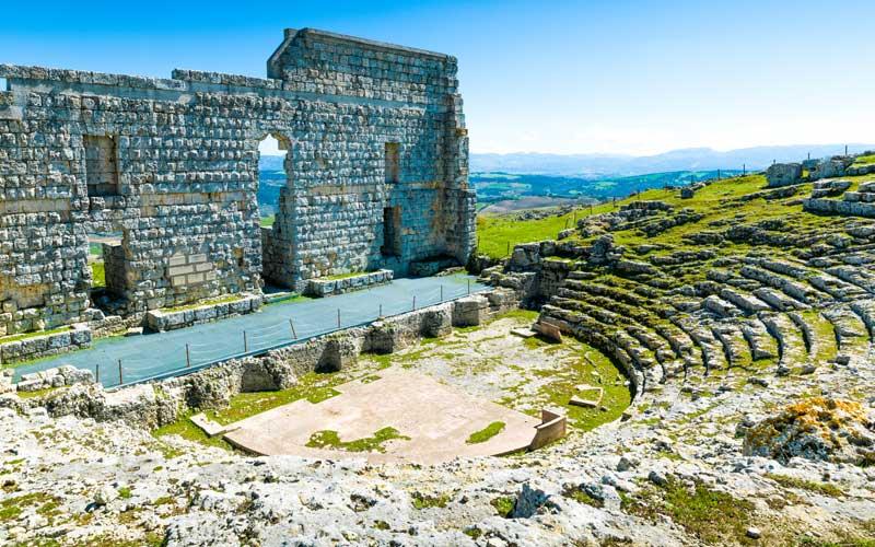 Yacimientos romanos de andalucía