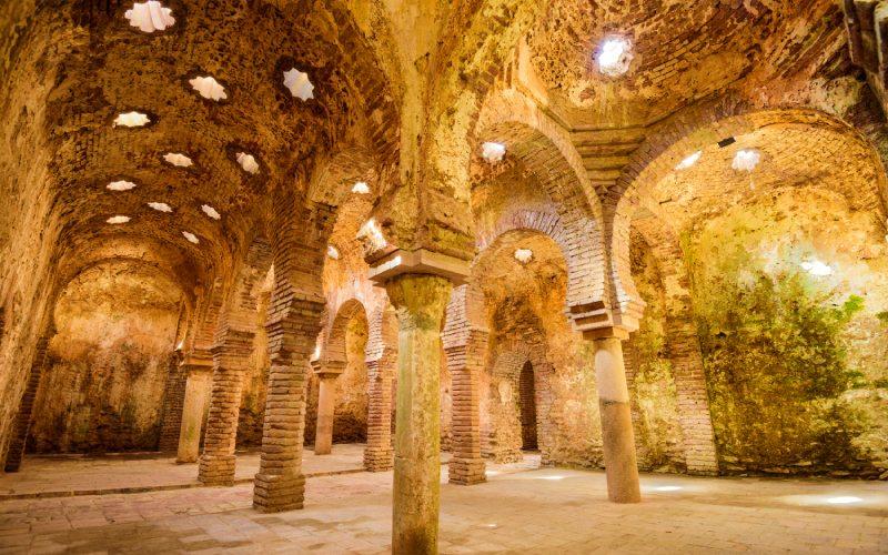 Baños árabes de Málaga