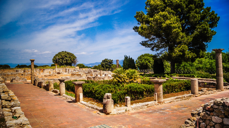 Ampurias, Emporiae, ruinas romanas en España