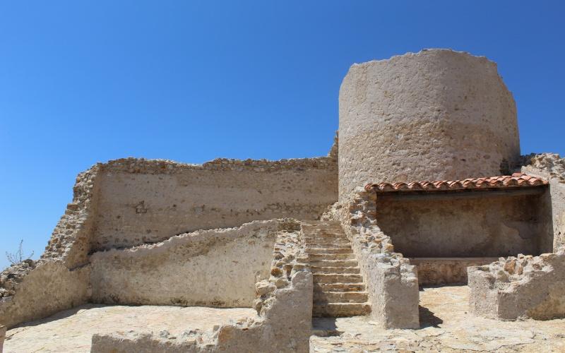 Ruinas del castillo de Culla, Castellón