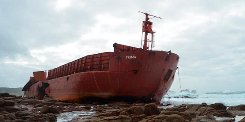 costa da morte naufragios buque moldavo