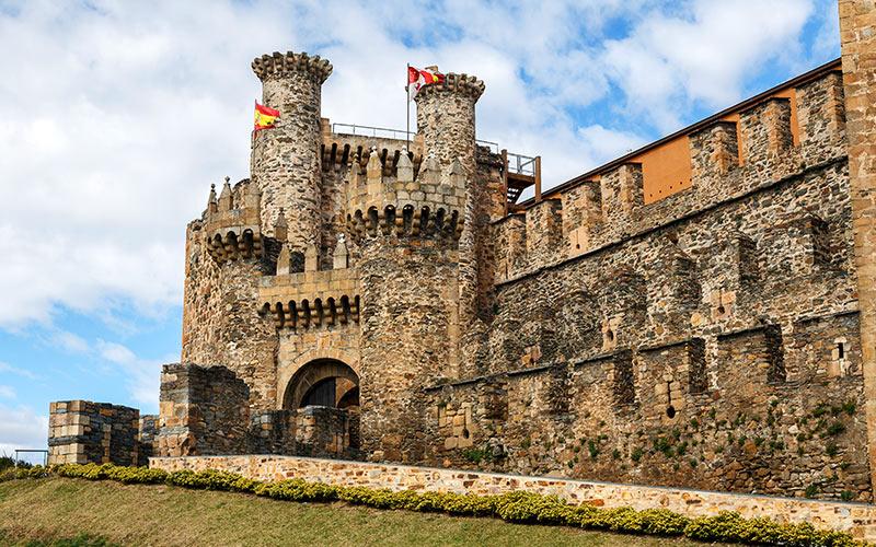 Ponferrada, parte de la ruta templaria por el norte de España