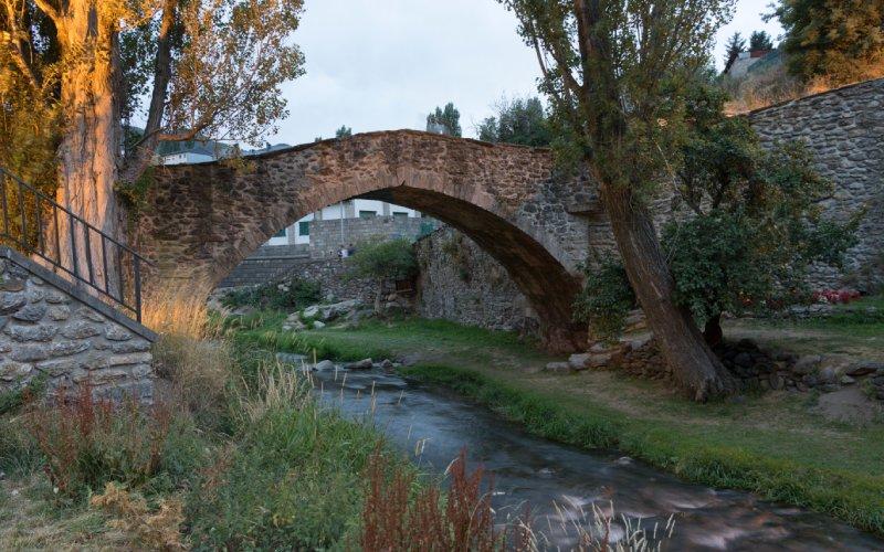 Antiguo puente de Sallent de Gállego