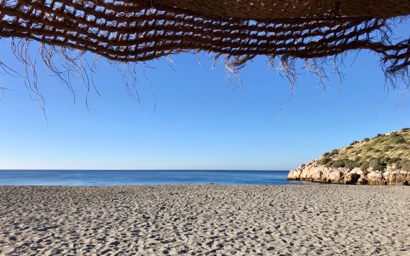 Una de las muchas playas de Salobreña