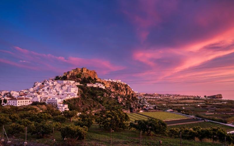 Salobreña es uno de los pueblos más bonitos de Granada