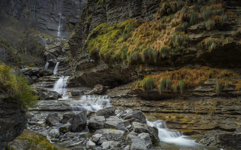 Cañón de Delika y río Nervión