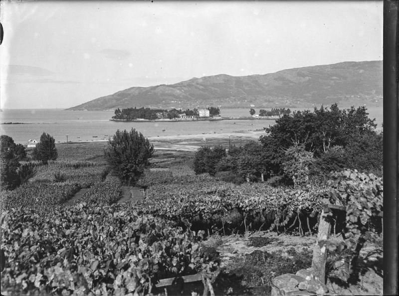Islas de San Simón y San Antón antes de 1936