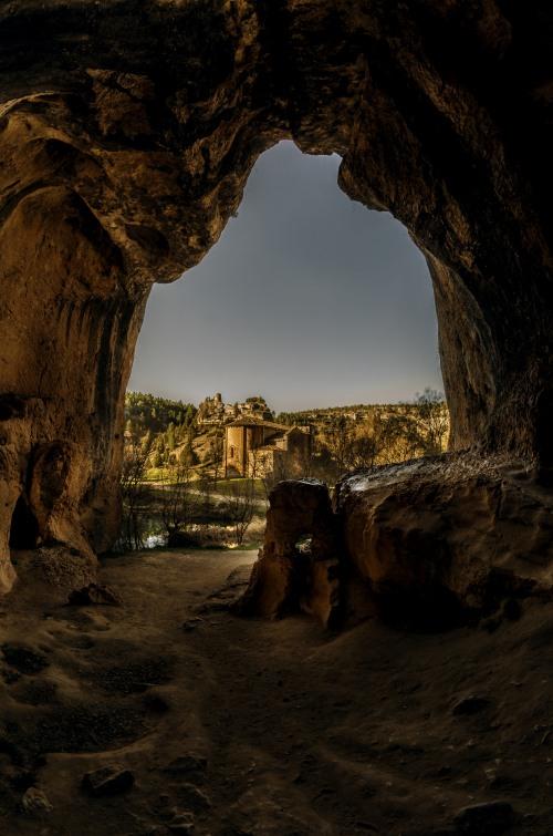 Entrada de la Cueva Grande Rio Lobos