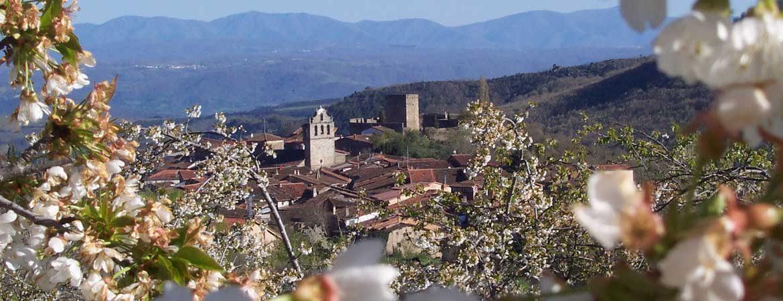 Panorámica que ver en San Martín del Castañar