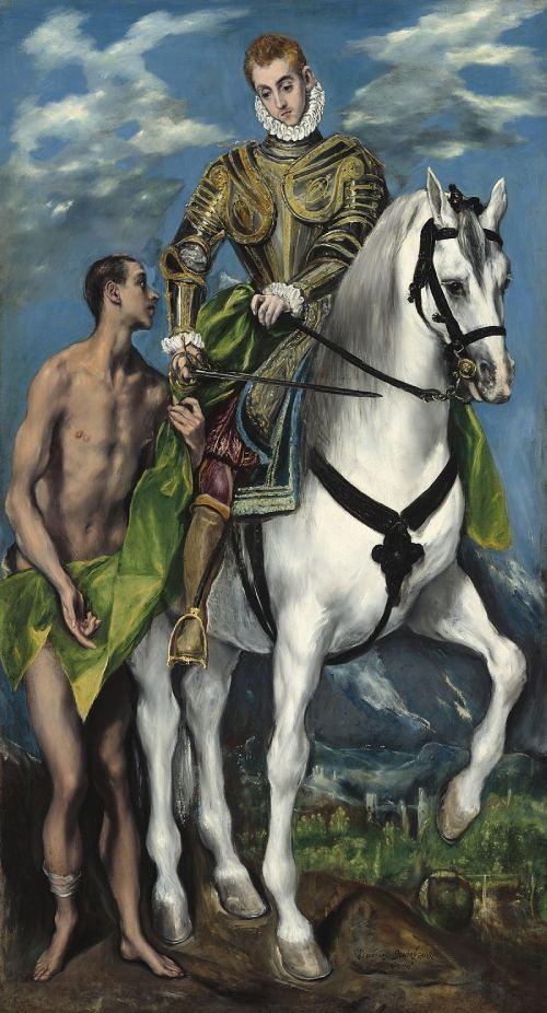 San Martín y el Mendigo de El Greco