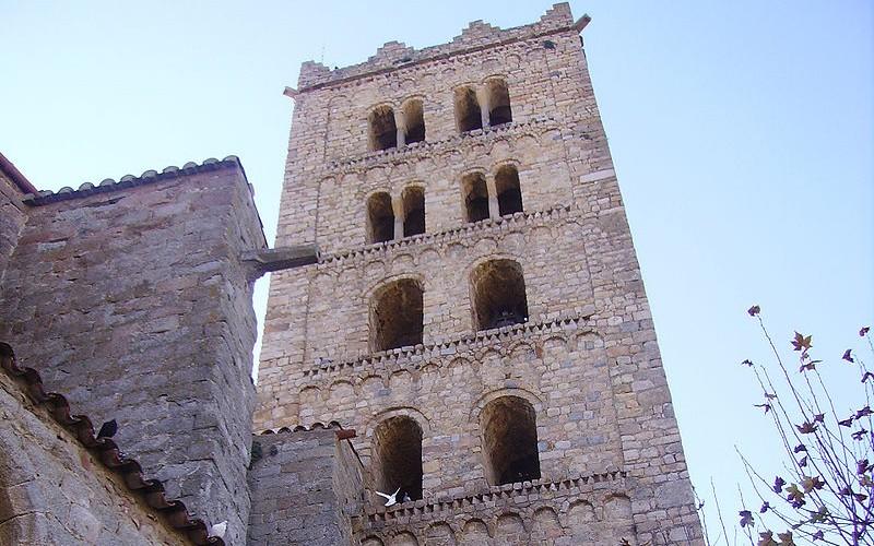 Campanario de San Salvador de Breda
