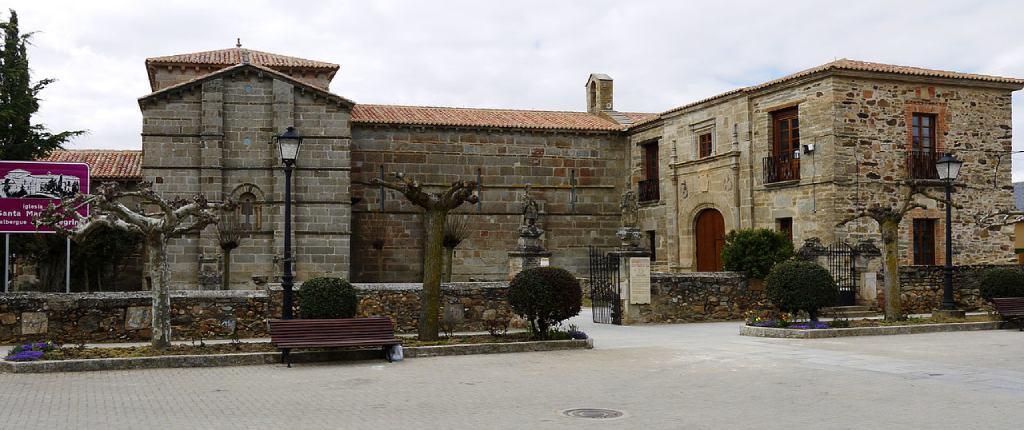 Palacio episcopal e iglesia de Santa Marta de Tera