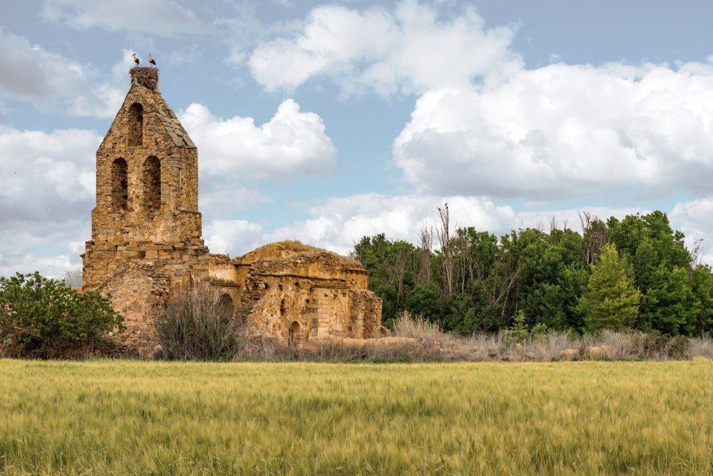 Santa María en Villaobispo, Santibáñez de Vidriales