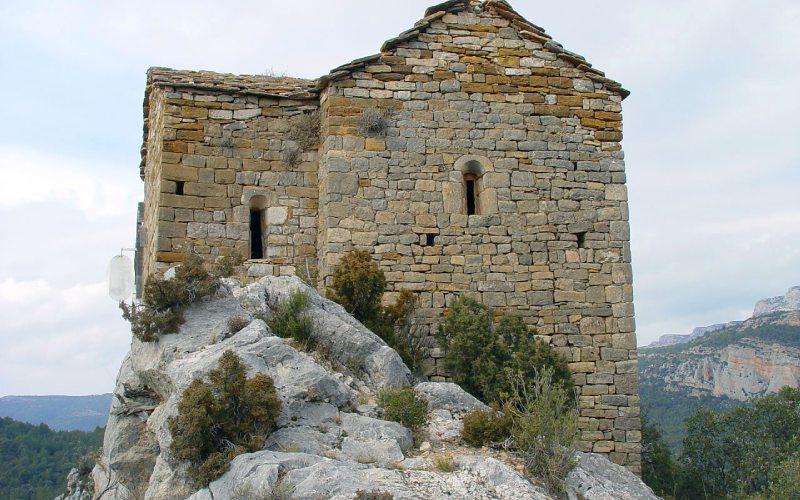 Ermita Santa Quiteria y San Bonifacio en Mont-Rebei