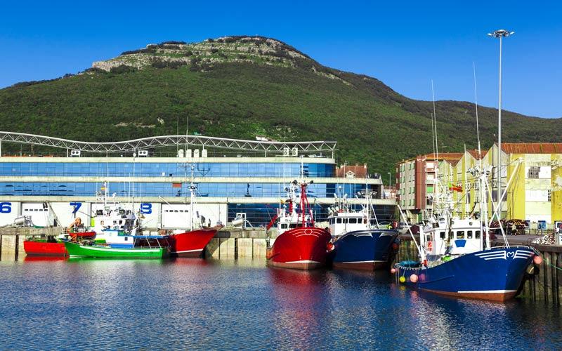 Puertos de pesca del Cantábrico