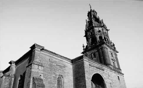foto antigua iglesia santo tomas haro