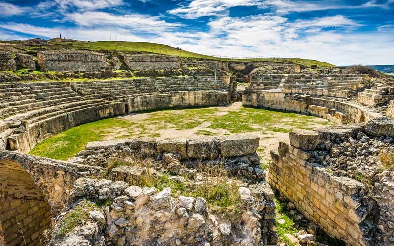 ruinas antiguas de España